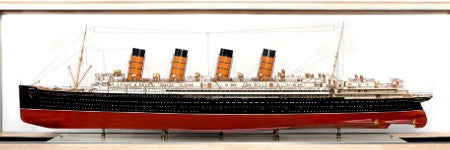 RMS Mauretania scale model sells for $210,500