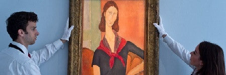 Modigliani's portrait of Jeanne Hebuterne could top $40m at Sotheby's