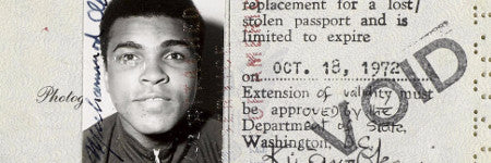 Muhammad Ali US passport to make $35,000?