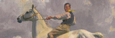 Alfred Munnings' Ned Osborne on Grey Tick makes $780,000