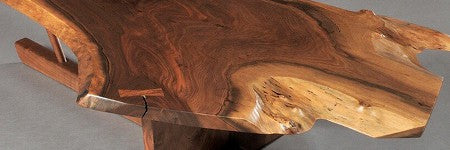 George Nakashima coffee table up 34% on estimate at Skinner