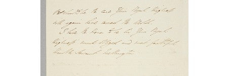 Napoleon's letter of surrender to go on display in January