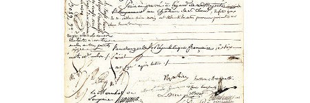 Napoleon signed marriage certificate to sell in Palm Beach