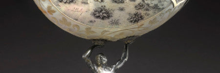 Dutch carved nautilus shell to lead old master sale