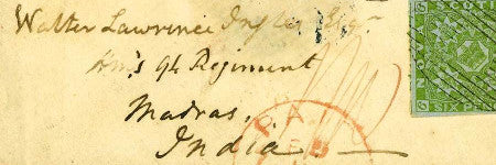 Nova Scotia 1851 pair cover to star in stamp auction at Spink