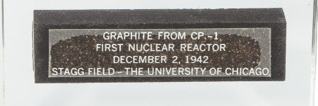 First nuclear reaction brick valued at up to $15,000