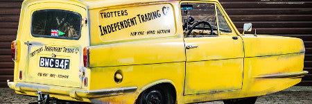 Only Fools and Horses Reliant Regal offered at Silverstone