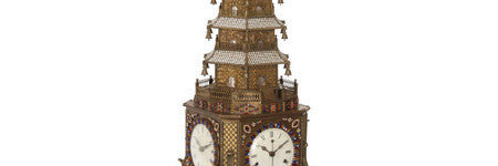 18th century pagoda clock realises $1m