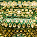 Indian gold pandan set auctions with 120.8% increase on estimate