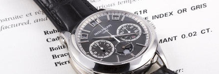 Putin's Patek Philippe ref 5208 sold at Antiquorum