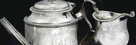 Paul Revere silver teapot makes $233,000 at Christie's New York