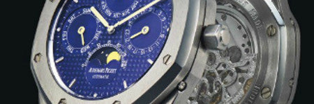 Audemars Piguet Royal Oak watch sells for $42,500