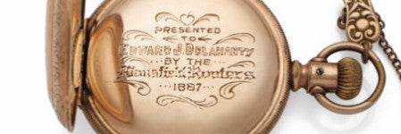 Ed Delahanty's pocket watch to star in baseball sale
