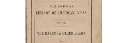 Edgar Allan Poe's Raven first edition offered on June 12