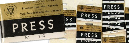 Kennedy Texas press badges to exceed $10,000 at Nate D Sanders?
