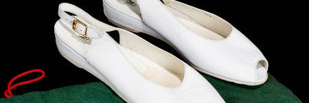 Princess Diana's white shoes sell for $2,300