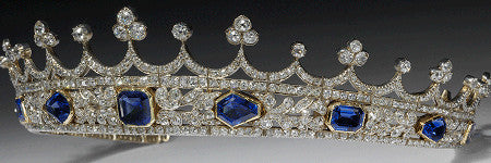 Prince Albert's Queen Victoria coronet gifted to V&A