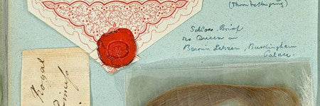 Queen Victoria's childhood scrapbook to sell