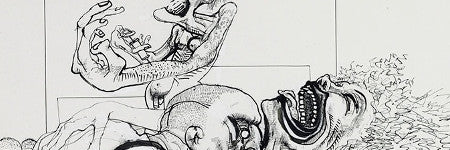 Ralph Steadman Fear and Loathing drawing to sell