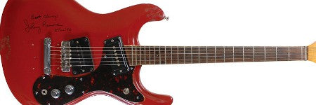 Johnny Ramone electric guitar realises $72,000 at RR Auction