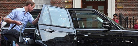 Prince George Range Rover to star in charity auction