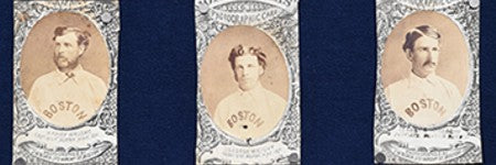 1871 Boston Red Stockings memorabilia estimated at $1m