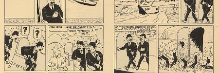 Tintin double page plate sells for $1.2m at Artcurial