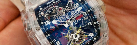 Richard Mille billionaire's handshake is up for auction