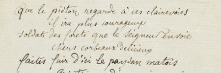French poet Arthur Rimbaud's manuscript makes $302,000