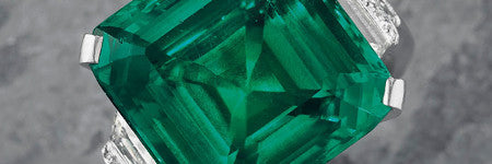 Rockefeller emerald to sell at Christie's in June