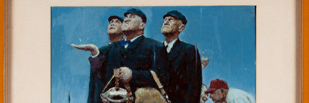 Norman Rockwell's Tough Call study reaches $1.6m
