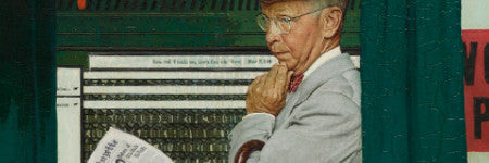Norman Rockwell's Which One? sells for $6.5m