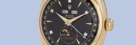 Vietnamese emperor's Rolex watch sets world record
