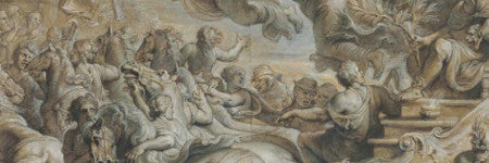 Peter Paul Rubens drawing highlights upward trend