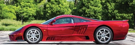 Saleen S7 auctions for $632,500