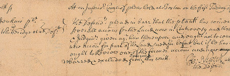 Salem witch trials document will star at RR Auction