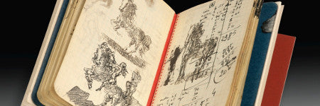Unpublished Salvador Dali notebook offered at Sotheby's