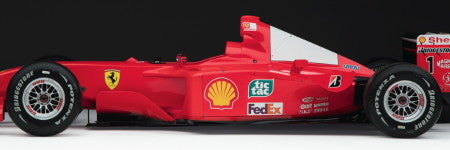 Michael Schumacher's 2001 Ferrari to sell in art sale