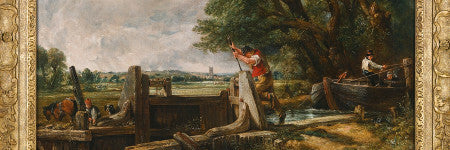 John Constable's The Lock valued at up to $18.1m