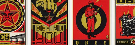 Shepard Fairey Obey prints to feature in July 12 auction at Wright