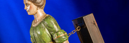 Byzantine Woman ship's figurehead to beat $15,000?
