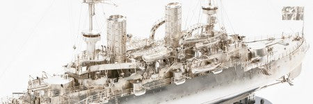 German silver model battleship to make up to $156,000?