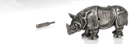 Silver Faberge rhino to star in Christie's auction