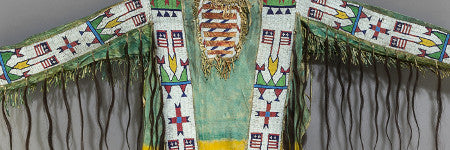 Sioux beaded war shirt makes $32,500 at Heritage