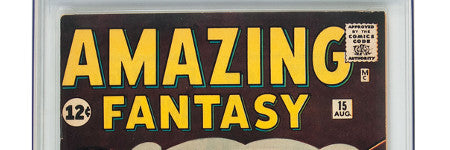 Amazing Fantasy #15 comic to exceed $125,000?