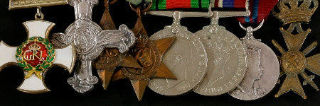 RAF fighter ace's medals to cross the block