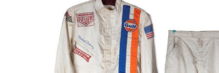 Steve McQueen's Le Mans suit offered in New York
