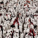 Andreas Gursky stock exchange photos to auction