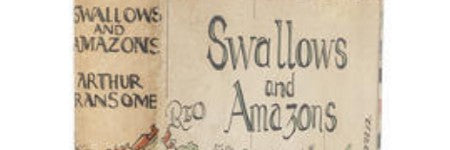 Arthur Ransome signed Swallows & Amazons has $9,000 estimate