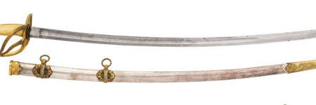 Civil war presentation sword among highlights at Heritage